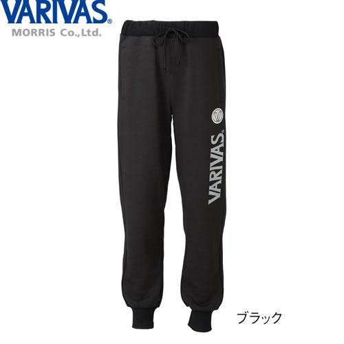 バリバス スウェットパンツ VAT-39 ブラック M〜LL (スウェット パンツ 防寒着)