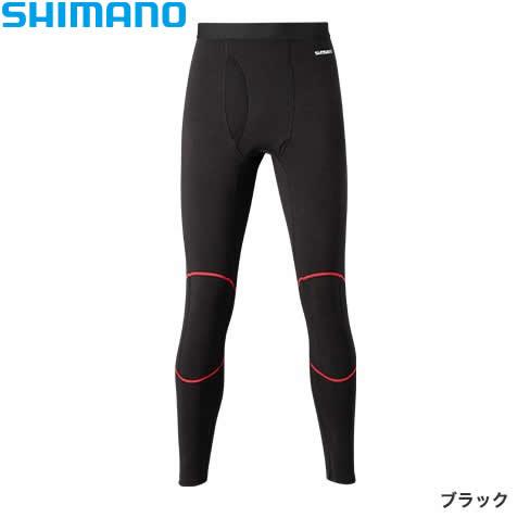 シマノ ブレスハイパー+℃ ストレッチアンダータイツ (中厚タイプ) IN-045Q XS〜XL (保温肌着 防寒着)