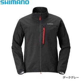 シマノ ストレッチ 3レイヤージャケット JA-041Q ダークグレー S〜XL (防寒着)