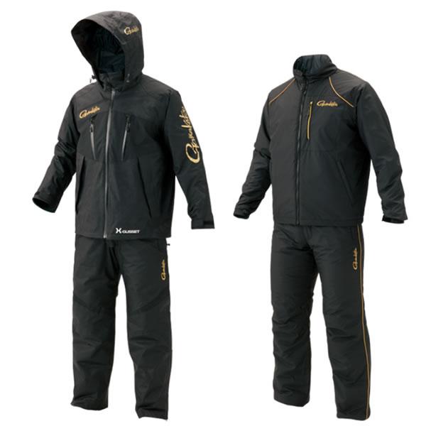 がまかつ オールウェザースーツ (超耐久撥水仕様) GM-3485 ブラック S〜5L (防寒具 釣り)