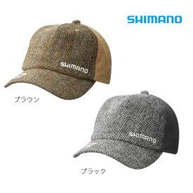 シマノ ツイード キャップ CA-071Q フリーサイズ (防寒着 帽子)