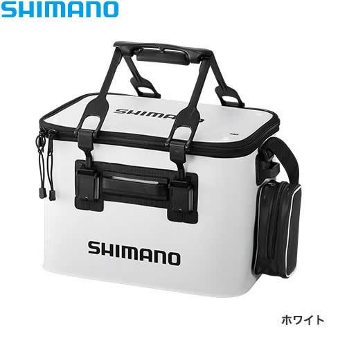 シマノ フィッシュバッカン EV BK-026Q ホワイト 45cm (キーパーバッカン 釣具)