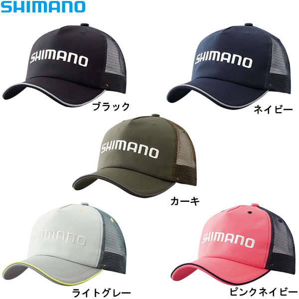 シマノ スタンダードキャップ CA-042R フリーサイズ (フィッシングキャップ 帽子)