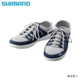 シマノ イヴェアー ボートシューズ ネイビー FS-090R (デッキシューズ フィッシングシューズ)