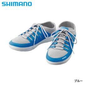 シマノ イヴェアー ボートシューズ ブルー FS-090R (デッキシューズ フィッシングシューズ)
