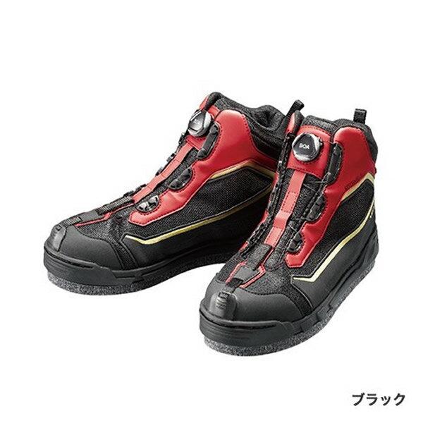 シマノ ドライシールド・ジオロック・カットラバーピンフェルトシューズ FS-155R ブラック FS-155R (磯 スパイクシューズ)