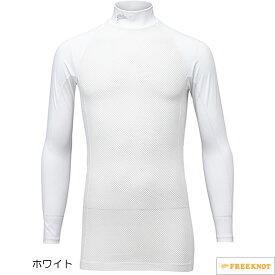 ハヤブサ SUNSHADE(サンシェード) レイヤードアンダーシャツ Y1635 10.ホワイト M~LL (冷感肌着)