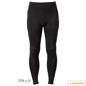 ハヤブサ SUNSHADE(サンシェード) レイヤードアンダータイツ Y5624 90.ブラック (冷感肌着 UVカット ストレッチ)