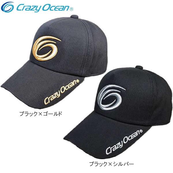 クレイジーオーシャン 18 オリジナルキャップ CC-7818 (フィッシングキャップ 帽子)