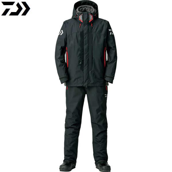 ダイワ レインマックスハイパー ハイロフト コンビアップ ウィンタースーツ ブラック DW-3408 (防寒着 防寒ウエア)