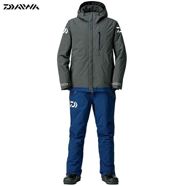 ダイワ レインマックス エクストラハイロフト ウィンタースーツ ガンメタル DW-3208 M〜XL (防寒着 防寒ウエア 防水防寒上下セット)