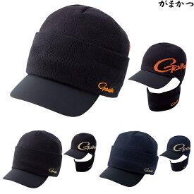 がまかつ 2WAYニットバイザーキャップ L GM-9847 (フィッシングキャップ 防寒帽子)