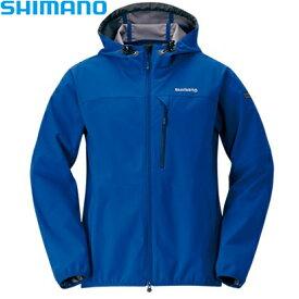 シマノ ストレッチ3レイヤーHジャケット ディープネイビー M〜XL JA-040Q (防寒着 防寒インナー)