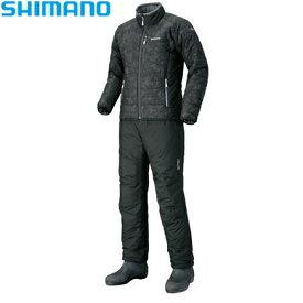 シマノ BSインシュレーションS オーアブラック M〜XL MD-055Q (防寒着 防寒インナー)