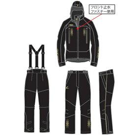 ハヤブサ 鬼掛レイヤードレインスーツ ゴールド (M〜3L) YS106G (レインウェア)