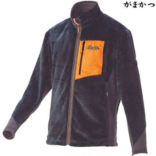 がまかつ ボアフリースジャケット チャコール GM-3526 (防寒着 防寒ミドラー)