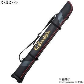 がまかつ ワイドストレートロッドケース (ガマカツ) ブラック・185 GC-275 (ロッドケース)(大型商品B)