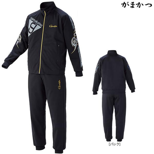 がまかつ ブリーズテックススーツ ブラック×グレー GM-3535 (防寒着 防寒ミドラー)