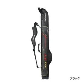シマノ ロッドケースXTスリム ブラック・145 RC-125R (ロッドケース)(大型商品A)
