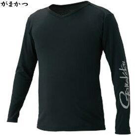 がまかつ NO FLY ZONE(R) ロングスリーブTシャツ ブラック GM-3552 (フィッシングシャツ)
