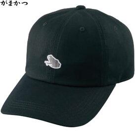 がまかつ キャップ (カエル) ブラック GM-9851 (フィッシングキャップ)