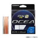 《期間限定》シマノ オシア EX8 PE 400m (3号:60lbクラス)