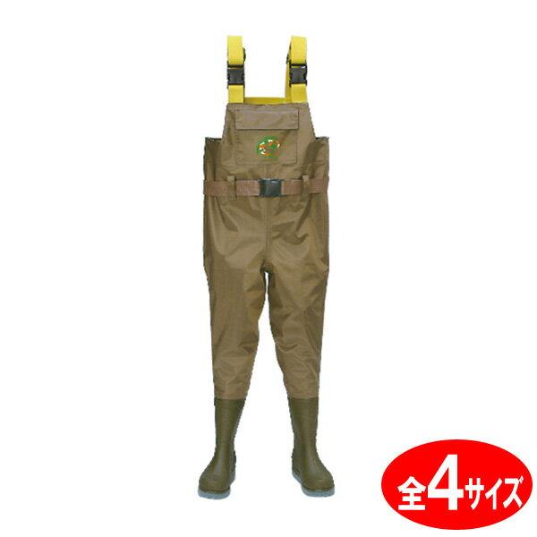 ウェーダー 子供 チェストハイ ジュニア W-88-J 阪神素地