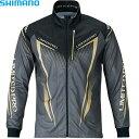 シマノ フルジップシャツ リミテッドプロ (長袖) ブラック M〜XL SH-011S (フィッシングシャツ)