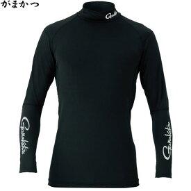 がまかつ スパイラルカット2WAYストレッチアンダーシャツ ブラック GM-3451 (冷感肌着)