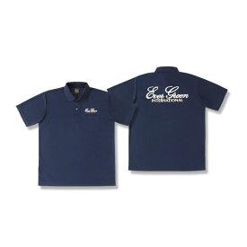 【スーパーSALE ポイント最大44倍】エバーグリーン EGドライポロシャツ Aタイプ ネイビー (シャツ・Tシャツ)