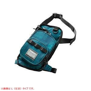 シマノ ランガンレッグバッグ ドレイニングブルー WB-022R (フィッシングポーチ)