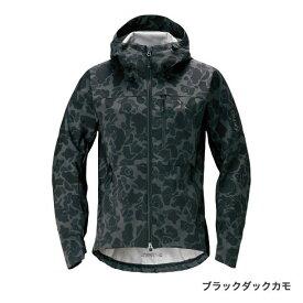 シマノ XEFO ストレッチジャケット ブラックダックカモ JA-240R (防寒着 フィッシングウェア パーカー ミドラー)
