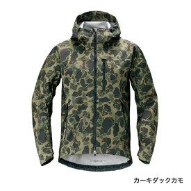 シマノ XEFO ストレッチジャケット カーキダックカモ JA-240R (防寒着 フィッシングウェア パーカー ミドラー) 2XL〜3XL