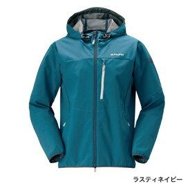 シマノ ストレッチ3レイヤーフーディジャケット JA-040Q ラスティネイビー (防寒着 防寒インナー)