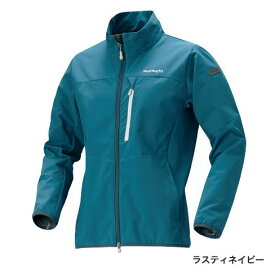 シマノ ストレッチ3レイヤージャケット JA-041Q ラスティネイビー (防寒着 防寒インナー)