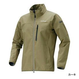 シマノ ストレッチ3レイヤージャケット カーキ JA-041Q (防寒着 防寒インナー)
