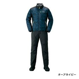 シマノ ベーシック インシュレーション スーツ オーアネイビー MD-055Q (防寒着 防寒インナー)