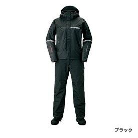 シマノ DSアドバンスウォームスーツ ブラック RB-025S (防寒着 上下セット 釣り)