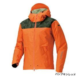 シマノ DSEX エクスプローラーウォームジャケット RB-04JS パンプキンレッド (防寒着 防寒ジャケット 釣り)