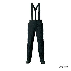 シマノ DSエクスプローラーウォームパンツ ブラック RB-04PS (防寒着 防寒パンツ)
