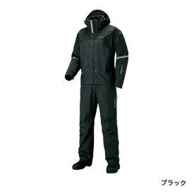 シマノ DSアドバンスプロテクティブスーツ ブラック RT-025S (防寒着 上下セット 釣り)