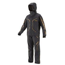 がまかつ ゴアテックス(R)オールウェザースーツ ブラック GM-3611 (防寒着 上下セット 釣り)