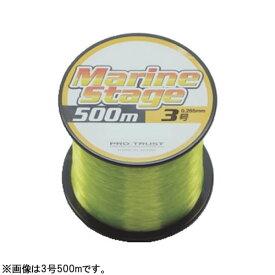 プロトラスト マリンステージ 500m #4.0 イエロー (ナイロンライン 釣り糸)