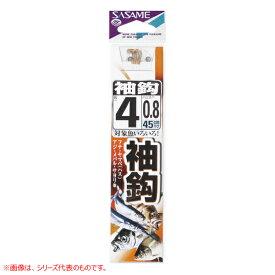10月20日限定クーポン配布中★ささめ針 袖鈎糸付 金 AA401 (糸付き針)
