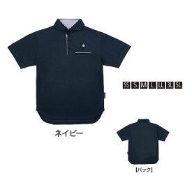 がまかつ ポロシャツ(クラウンED) ネイビー GM-3635 (シャツ)
