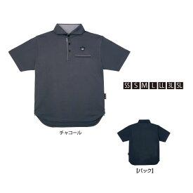 がまかつ ポロシャツ(クラウンED) チャコール GM-3635 (シャツ)