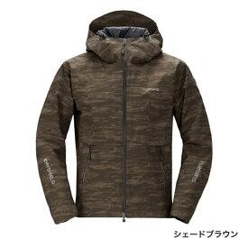 シマノ DSエクスプローラーウォームジャケット シェードブラウン RB-04JS (防寒着 防寒ジャケット 釣り)