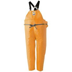ロゴス マリンエクセル 胸当付ズボン膝当て付(サスペンダー式) オレンジ 12063 (水用作業着) 3L