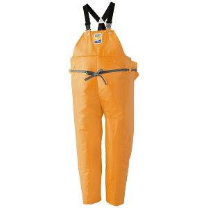ロゴス マリンエクセル 胸当付ズボン膝当て付(サスペンダー式) オレンジ 12063 (水用作業着)