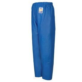 ロゴス マリンエクセル 並ズボン膝当て付 ブルー 12050 (水用作業着) 3L